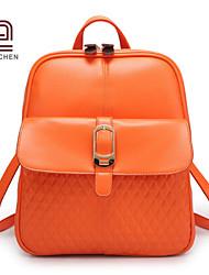 handcee® venta caliente nuevas mujeres de la moda de la PU acolchada bolsa mochila