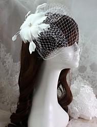 Women's Rhinestone Headpiece - Wedding/Special Occasion Birdcage Veils 1 Piece