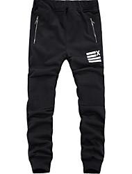 Pantaloni della tuta Uomo Casual Poliestere