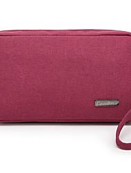 oxford pano de embreagem das mulheres / saco de cosmética - multi-color