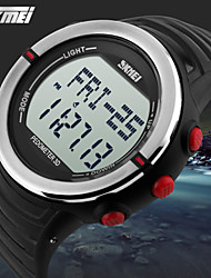 SKMEI® Unisex Digital Sports Watch Pedometer/Heart Rate Monitor/Chronograph/Alarm/Water Resistant