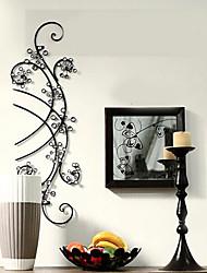 e-FOYER paroi métallique mur de l'art déco, rationaliser fleurs décoration murale un pcs