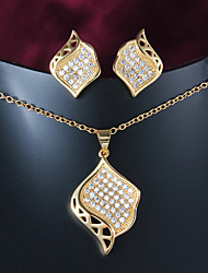 2015 Hot Selling Products Casual Gold Plated Necklace Necklace Sets Brand Jewelry
