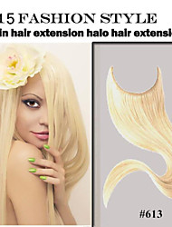 "1pc/lot Flip In Hair Extension 8""-34"" #1b,#2,#8,#16,#27,#30,#613 Human Hair Extension Brazilian Virgin Human Hair"