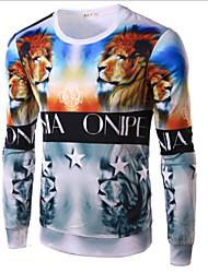 T-Shirts ( Coton ) Informel Manches longues pour Homme