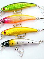"""4pcs pcs Fretin / leurres de pêche Fretin Others 8.6g g/5/16 Once mm/3-1/2"""" pouce,Plastique durPêche en mer / Pêche d'eau douce / Pêche"""