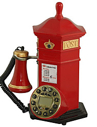 Novelty Creative Corded Postbox Antique Telephone