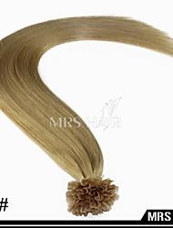 "20 ""24 # miel oscuro rubio de fusión en caliente u propina extensiones de cabello 0,8 g / pc 100pcs / pack humana"