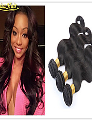 3PCS/Lot 8-32inch Unprocessed Hair Weave Brazilian Virgin Human Hair Extensions  Body Shocking In Stock Free Shipping