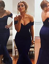 Women's Off-shoulder Mermaid Jersey Evening Maxi Sexy Dress