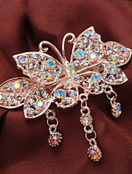 Women Rhinestone/Fashion Vintage Style Alloy Barrette Hair Clip With Casual/Party Headpiece