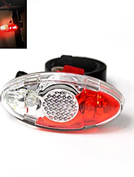 4-mode 4-LED Bicycle Front Lights Tail Lights