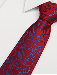 Red Wedding Ceremony Banquet Arrow Jacquard Necktie Tie