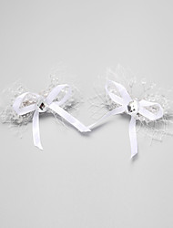 Women's/Flower Girl's Rhinestone/Alloy/Imitation Pearl Headpiece - Wedding/Special Occasion Hair Pin 2 Pieces