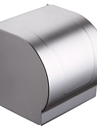 Bathroom Lavatory Wall Mount Toilet Paper Holder  Aluminum