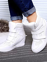 Women's Shoes Dunk High Increased Within  Flat Heel Comfort Fashion Sneakers Outdoor/Casual