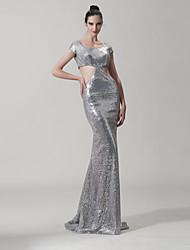 Vestito Sirena - Coda a Strascico Corto - Tondo