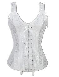 Formwäsche ( blanco , Acryl/Damast , Jacquard ) - für Hochzeit/Informal - Shapewear Tops