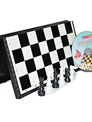 3d международный стандарт в шахматы с магнитной складной настольной игры набор (случайный цвет)