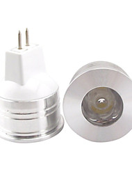1.5w mr11 150-200lm lumière lampe led spot lights (12v)