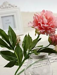 """28.3 """"fleurs artificielles h haute qualité pivoine 2 pièce"""