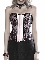 Formwäsche ( negro , Damast/Polyester , Spitze ) - für Hochzeit - Shapewear Tops
