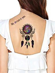 Yimei - Tatuajes Adhesivos - Non Toxic/Waterproof - Otros - Mujer/Hombre/Adulto/Juventud - Multicolor - Papel - 5 - 17*10cm - HM813