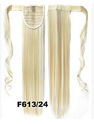 90 g 55 cm queue de cheval en fibre de velcro F613 / 24