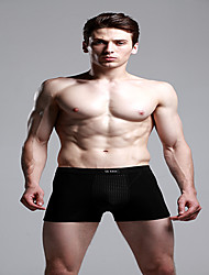 The British Guardian Pants Men's Underwear Sexy Underwear Black Breathable Boxer Physiological Energy Health