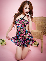 Women Polyester Sleepwear Gowns