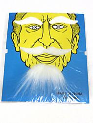 bola partido porp barba branca longa false false false barba curta sobrancelhas