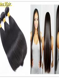 3PCS/lot Virgin Hair Straight Hair Extensions Cheap Remy Human Hair Weaves Weft Brazilian Straight Hair Bundles