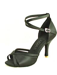 Latin Customizable Women's Sandals Satin Dance Shoes (More Colors)