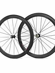 Weight 1648g Full Toray T700 Carbon 700C Road Bike 50C Clincher Carbon Wheel 23mm Width 50mm Depth