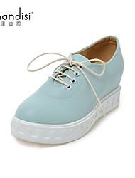 Women's Shoes Wedge Heel Wedges/Heels Pumps/Heels Casual Black/Blue/White