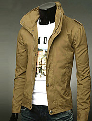 Autumn Slim Casual Men's Clothing Tidal Current Male Thin Jacket