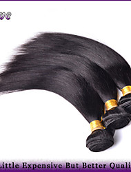 "3Pcs/Lot 8""-28"" Malaysian Virgin Hair Straight Natural Black 6A Quality Human Hair Bundles Dove Hair Products Remy Hair"