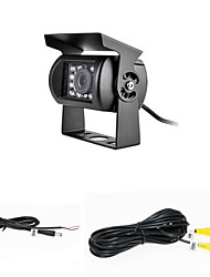 Rear View Camera - Sensor CCD de 1/4 Polegadas - 170° - 420 Linhas TV