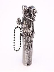 tête de métal gris adulte de briquets de dragon jouets