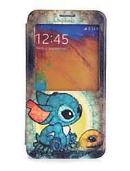 Cartoon Turtle Pattern Full Body Case for Samsung S5 I9600