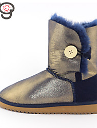 MG 2015 New Fashion Women Sheepskin Snow boots for Girls Classic Winter Shoes