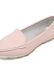 Women's Shoes   Flat Heel Pointed Toe Flats Casual Black/Pink/White