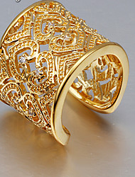 May Polly  18K Europe love zircon ring gold