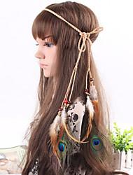 Handmade Headband,Belt,Weave Bohemian Headband,Native American,Braided Headband,Indian Feather Headband,Hippie Headband