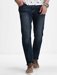LEEPEN New Men's Slim Pencil Jeans.