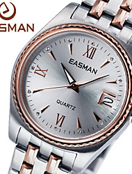EASMAN Watch Men Brand 2015 Rose Gold Quartz Watches For Men Fashion Wristwatches Designer Luxury Men Watches
