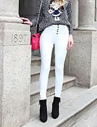 pantaloni scarni della vita goccia sottile delle donne (più colori)