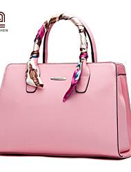Handcee® Fashion Cheap Woman PU Good Quality Tote Bag