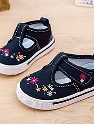 Girls' Shoes Casual Canvas Fashion Sneakers Blue/Pink