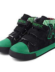 Sneakers a la Moda(Negro / Marrón / RojoTela